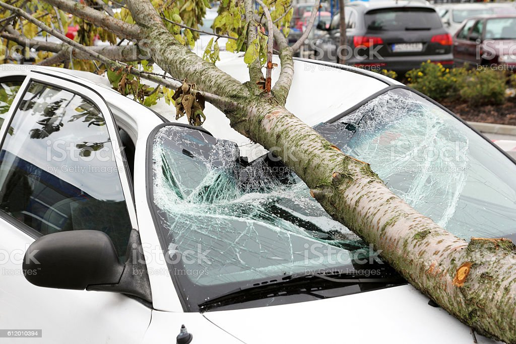 Endommagé voiture - Photo