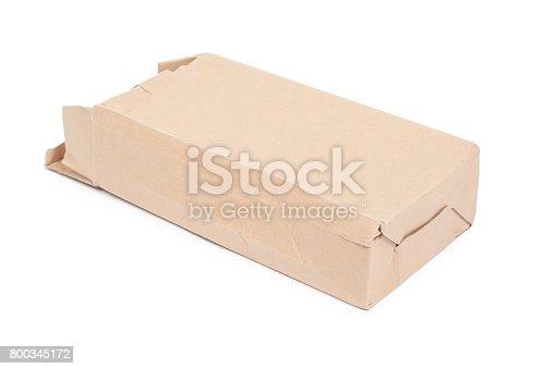 istock Damaged cardboard box 800345172