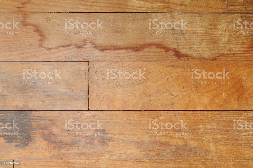 Damaged Hardwood Floor royalty-free stock photo