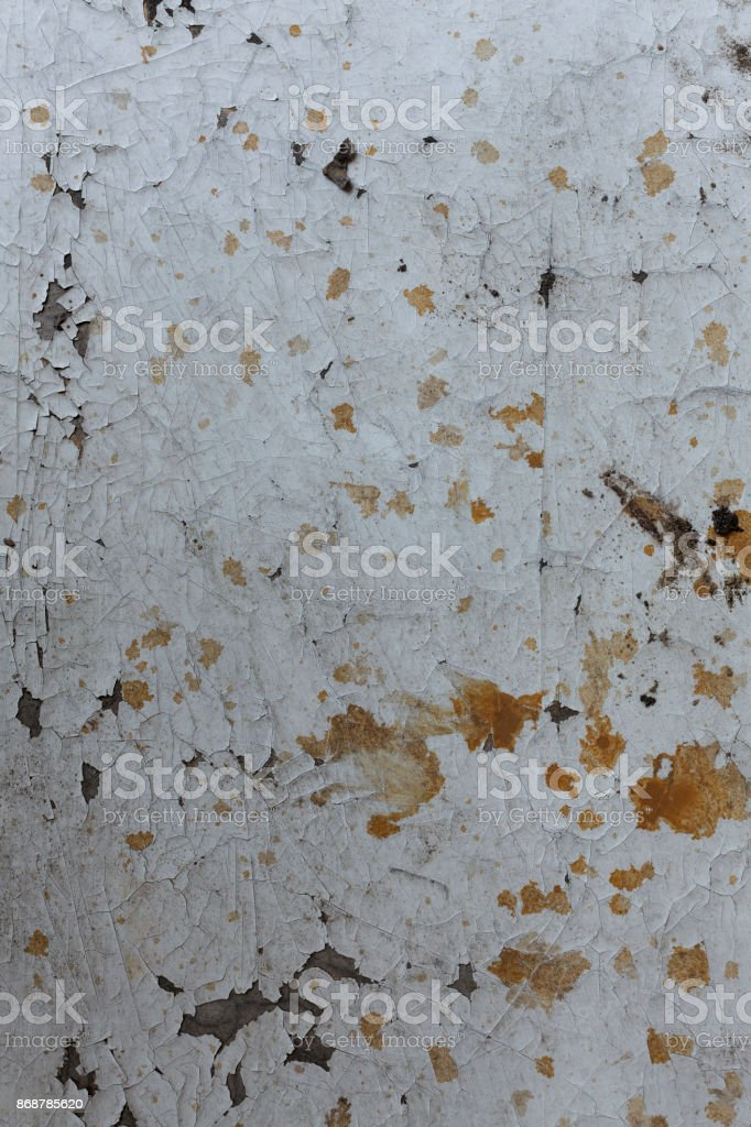 Damaged old wall for background with rough texture stock photo