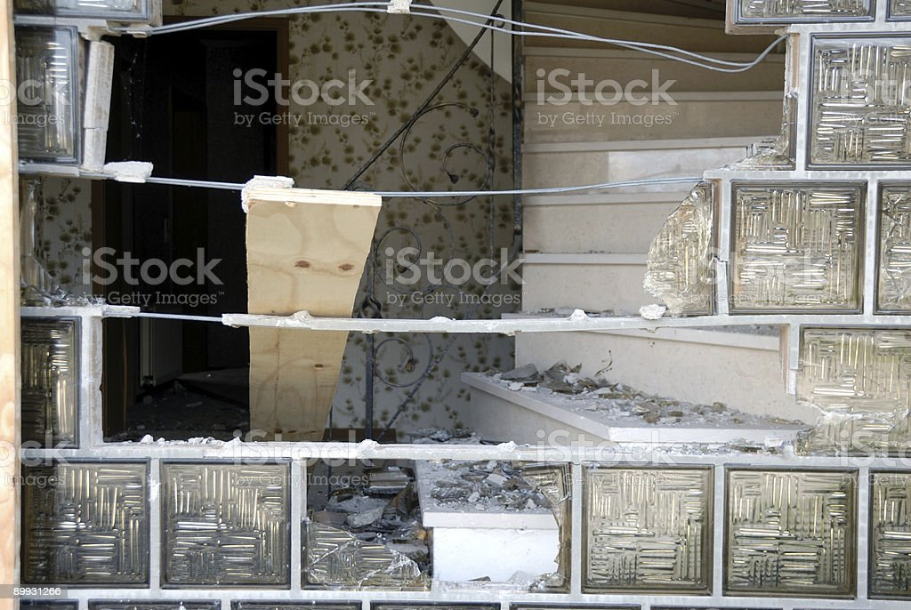 damaged stock photo