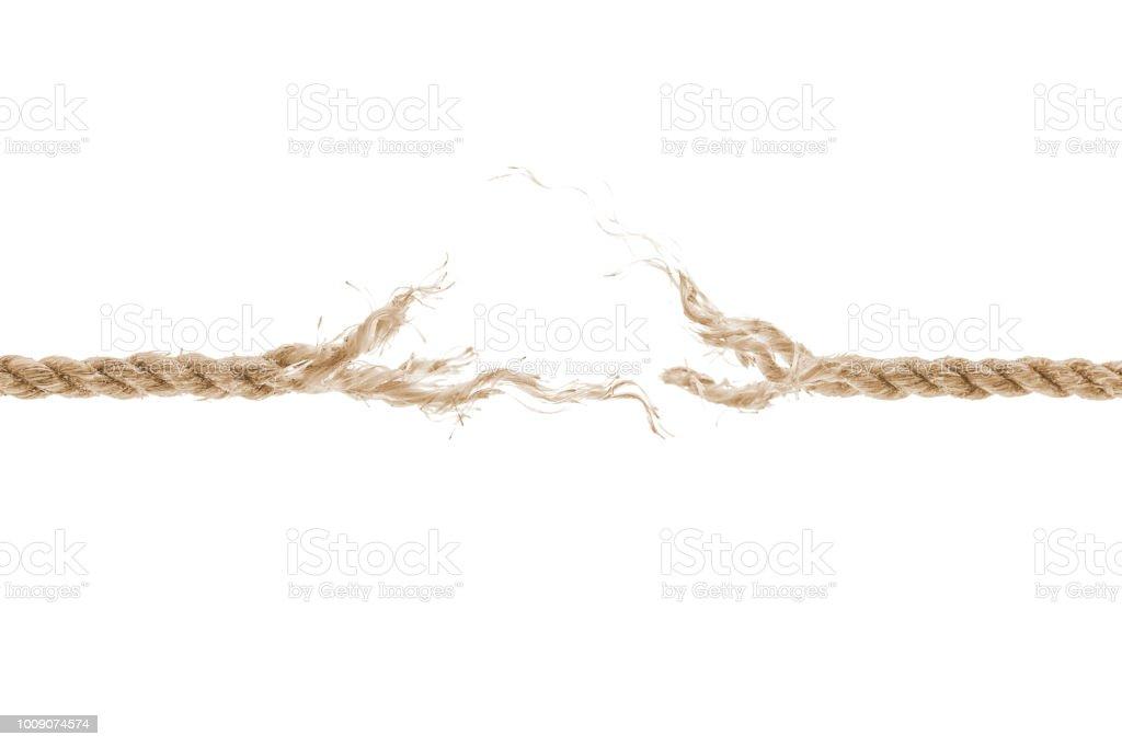 Beschädigte Seil – Foto