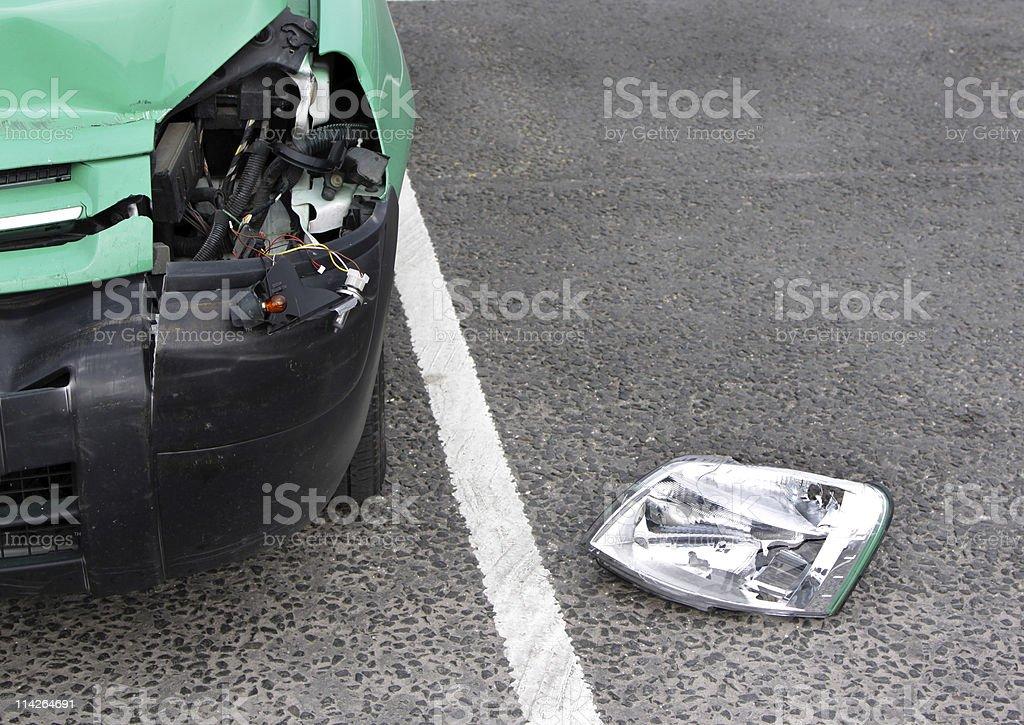 damaged vehicle stock photo