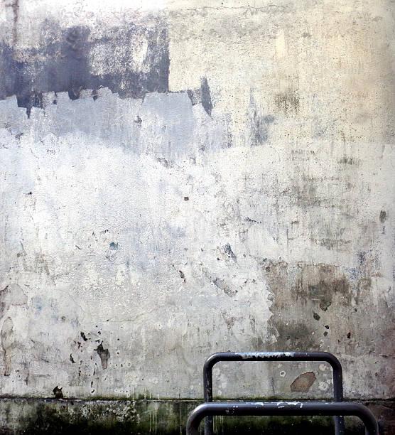 Damaged Wall stock photo