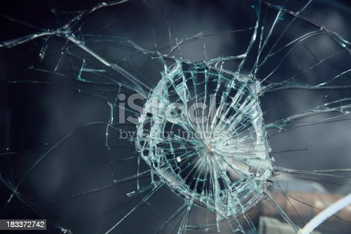 close up shot of broken glass of car window.Please see some similar pictures from my portfolio: