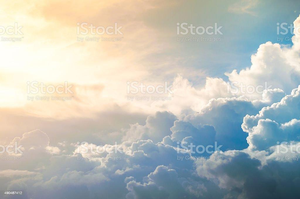 Damatic sunset sky - Royalty-free 2015 Stok görsel