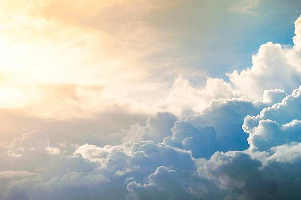 Damatic sunset sky Damatic sunset sky atmospheric mood stock pictures, royalty-free photos & images