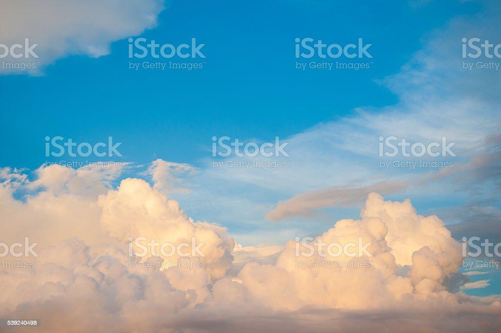 Damatic sunset sky royalty-free stock photo