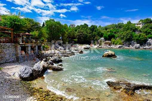 """The picturesque Damouchari on the east coast of the Pelion, the small village was rightly chosen as one of the locations for the film """"Mamma Mia""""."""