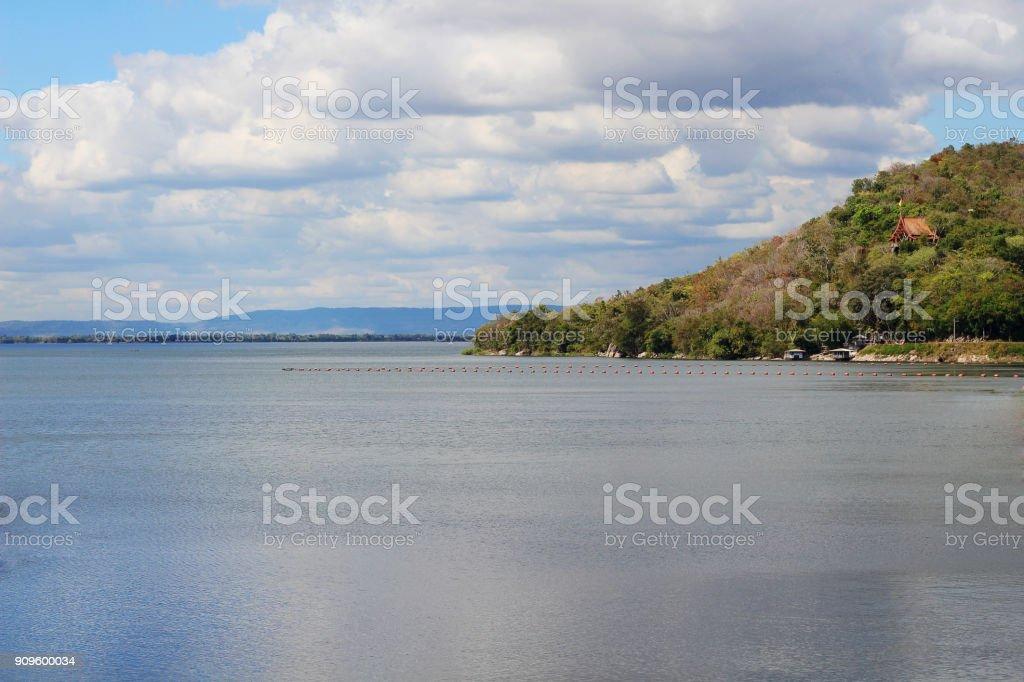 Dams in Thailand stock photo
