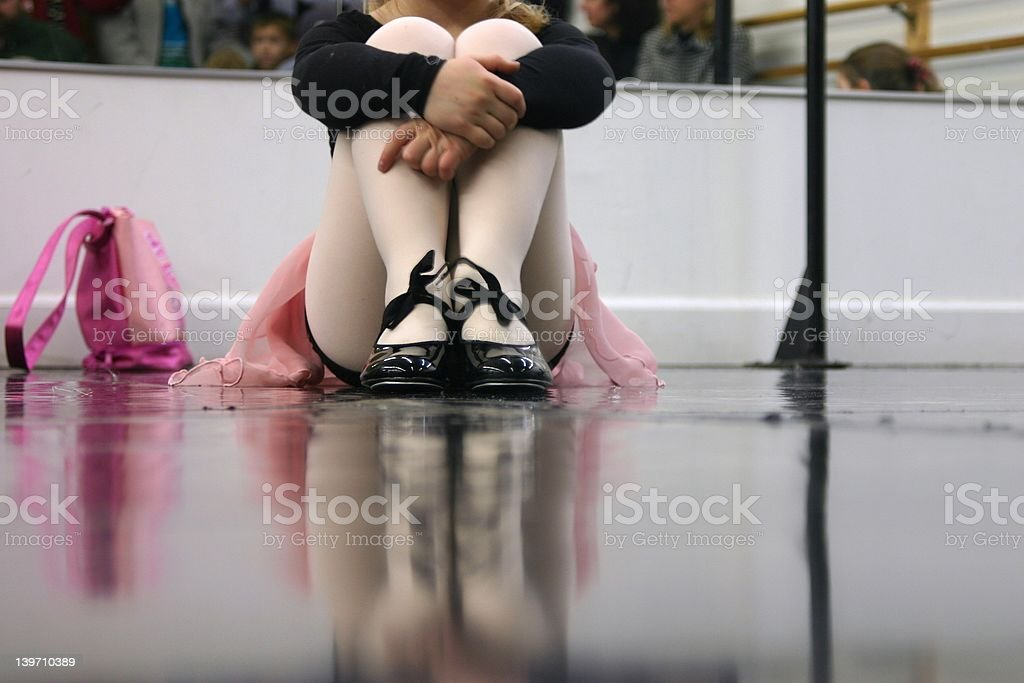 Dance Class means Waiting stock photo