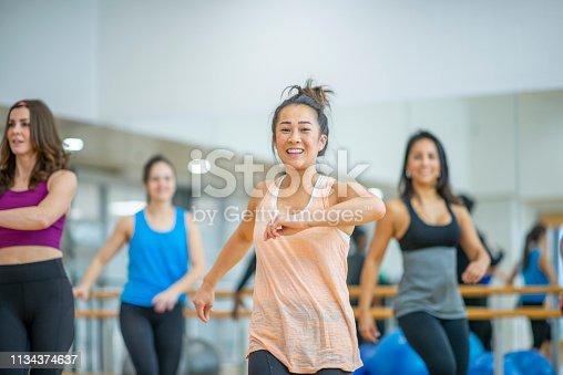 1134374666 istock photo Dance Class 1134374637