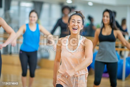 1134374666 istock photo Dance Class 1134374643