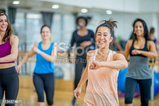 1134374666 istock photo Dance Class 1134374671