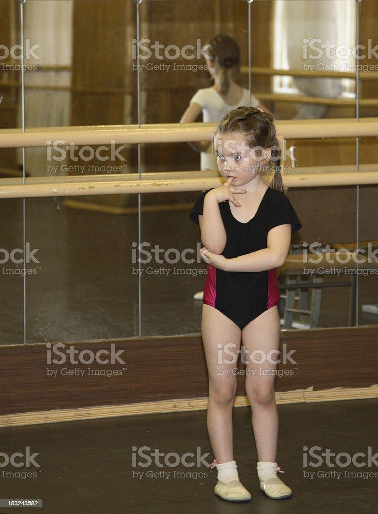 Dance class royalty-free stock photo