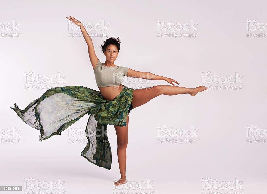 Dance defines me stock photo