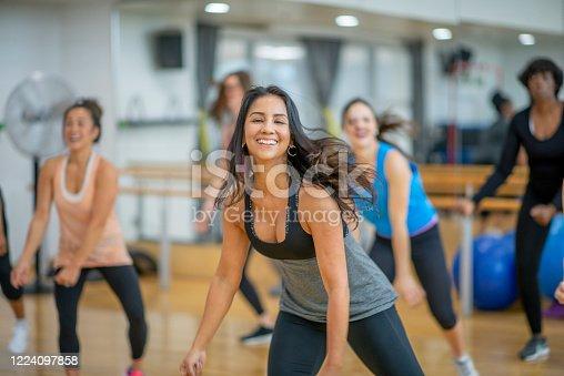 1134374666 istock photo Dance fitness class 1224097858