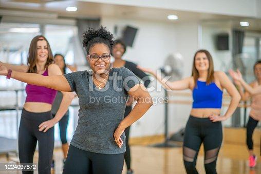 1134374666 istock photo Dance fitness class 1224097872