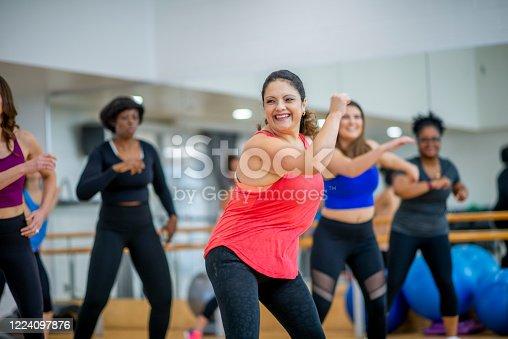 1134374666 istock photo Dance fitness class 1224097876
