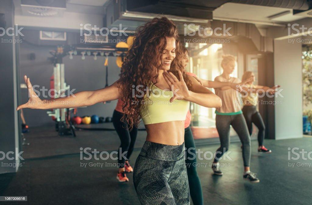 Dança Fitness - Foto de stock de 20 Anos royalty-free