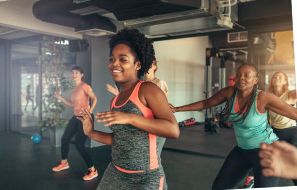 Dance Fitness stock photo