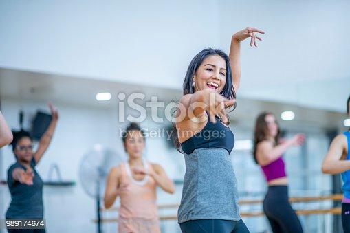 897892972 istock photo Dance Fitness 989174674
