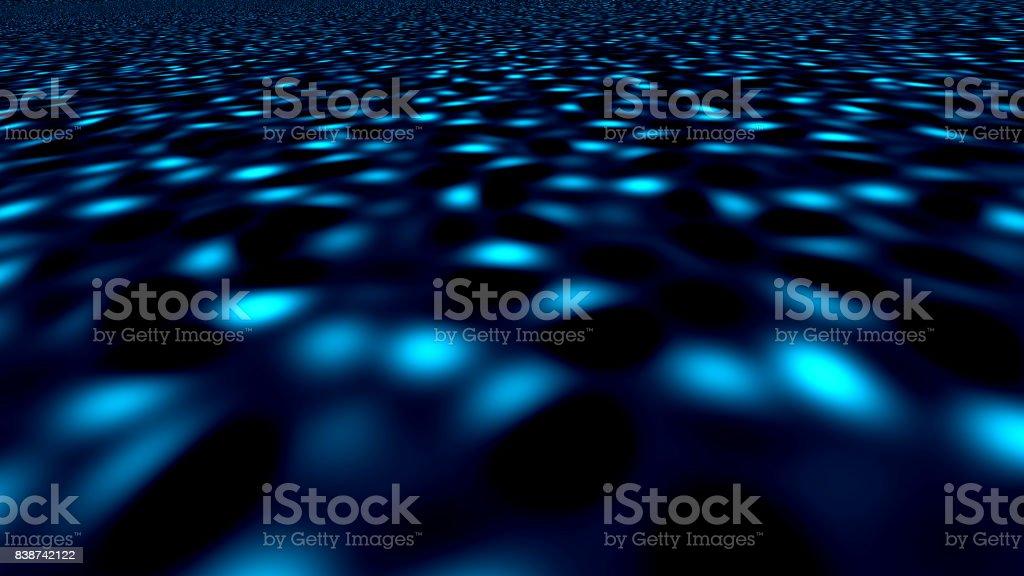 Dance floor disco poster background. Spotlights stock photo
