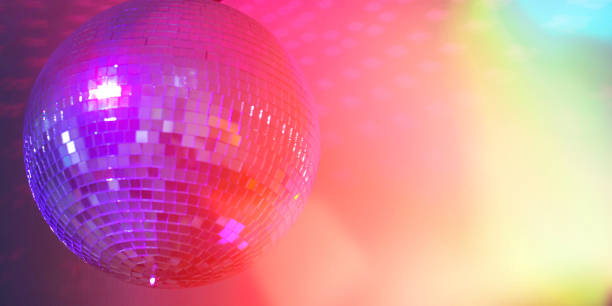 dance floor - disco lights stock pictures, royalty-free photos & images