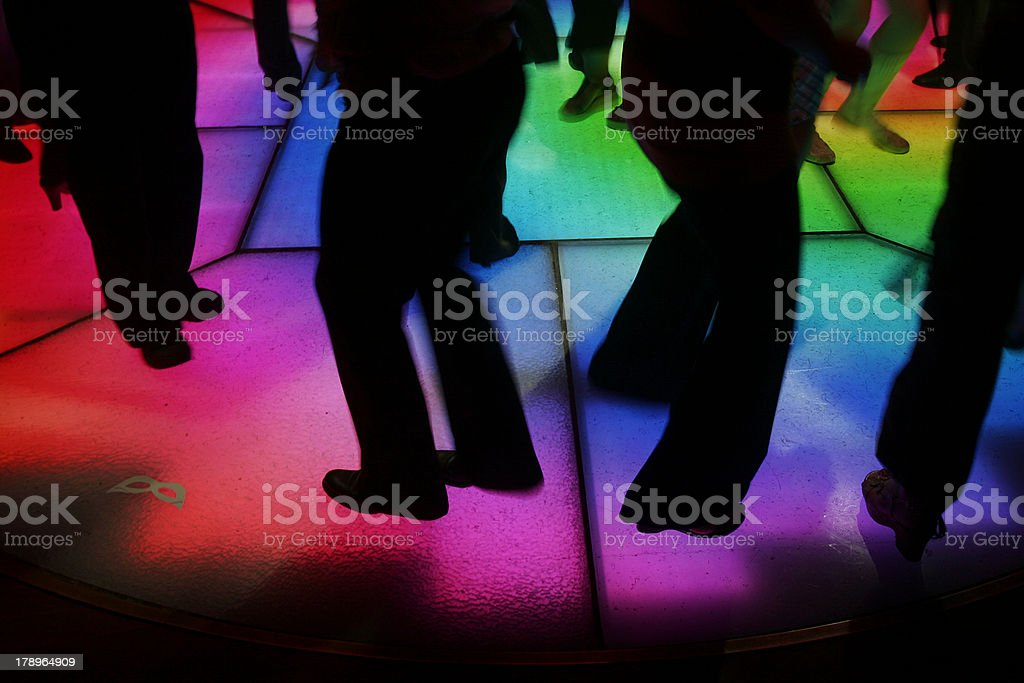 Dance floor royalty-free stock photo