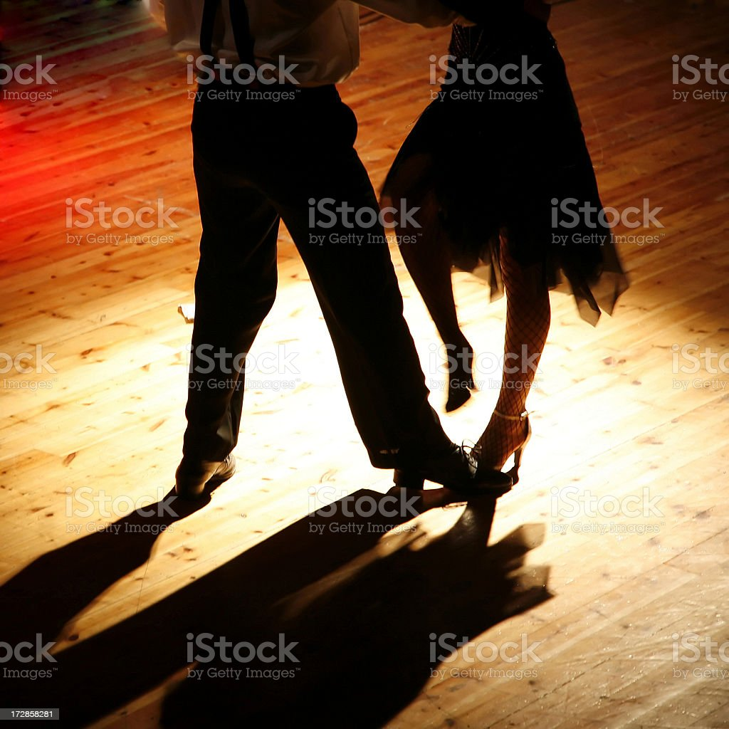 Dance for two stock photo