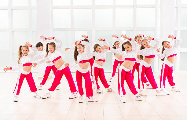dance group. - dance group stock photos and pictures