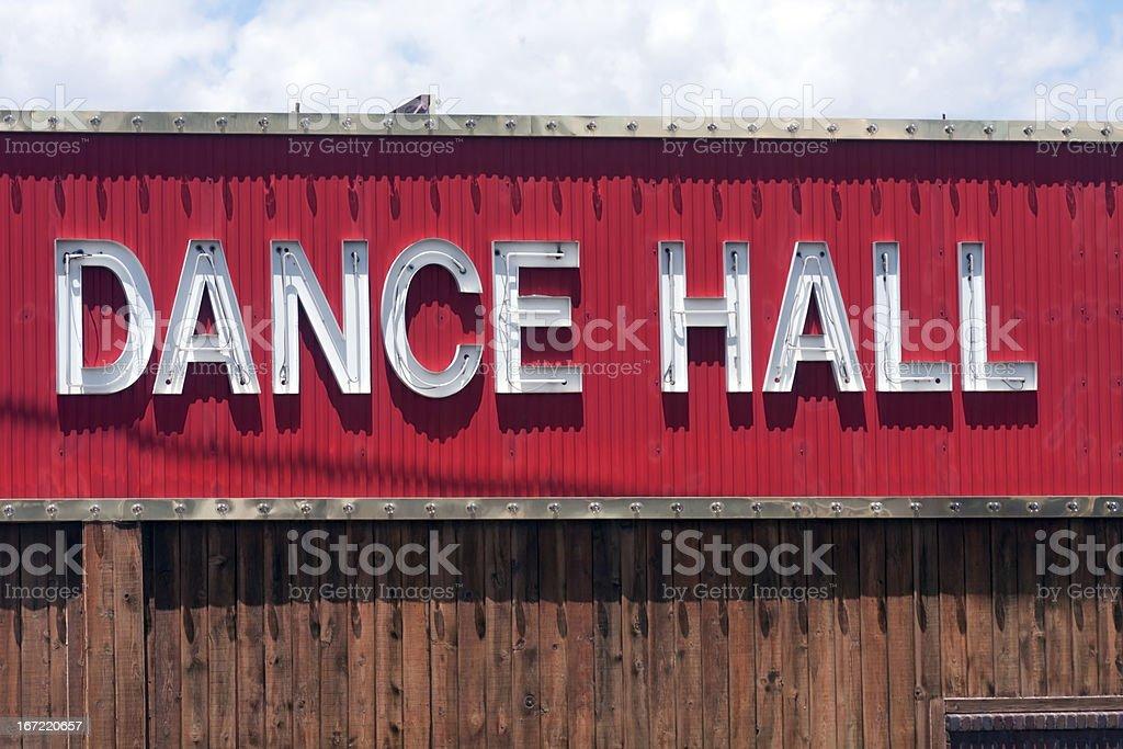 Salón de baile de señal - foto de stock