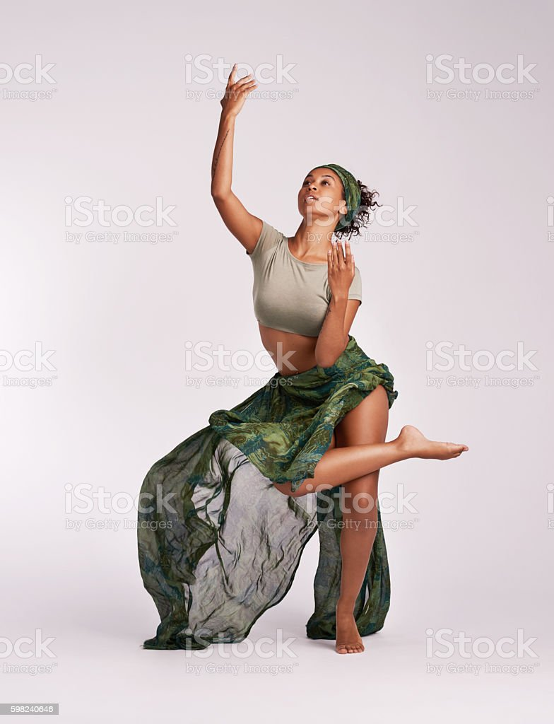 Dance is the vocabulary of the soul stock photo