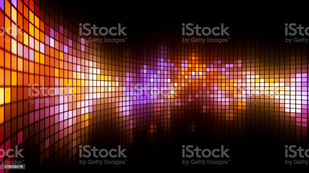 Dance Lights Wall Background stock photo