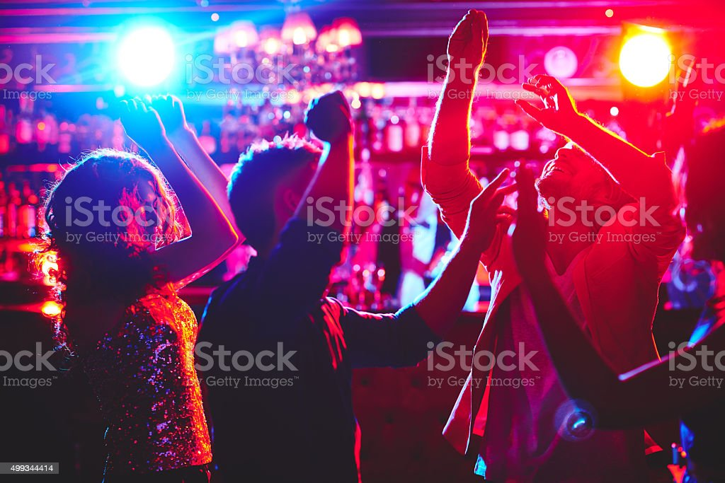 Dance lovers stock photo