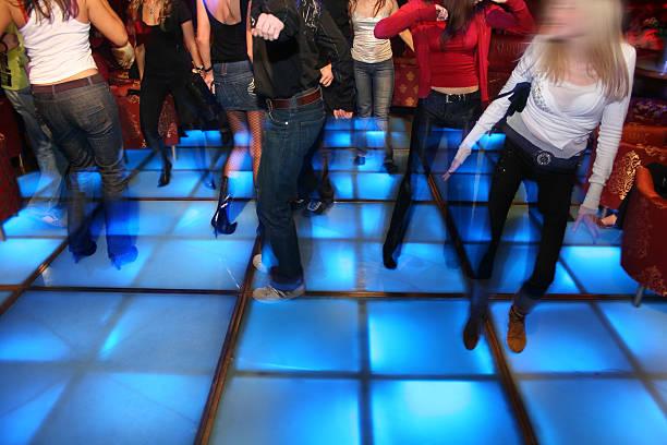 dance night club 3 stock photo