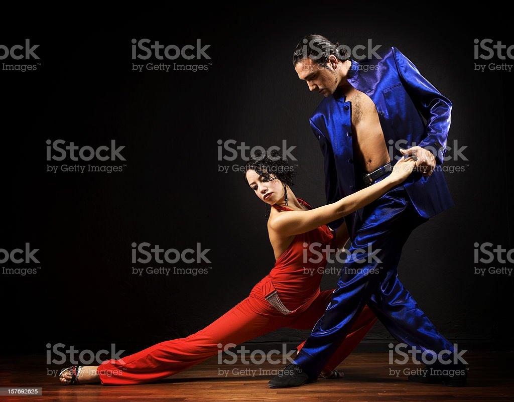 Dança de paixão Tango - foto de acervo