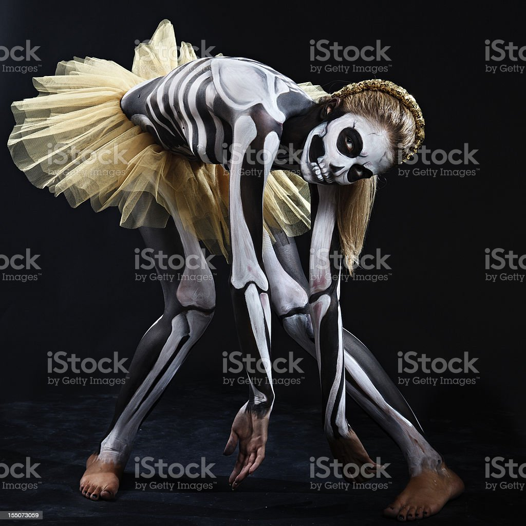 Dance of the dead royalty-free stock photo