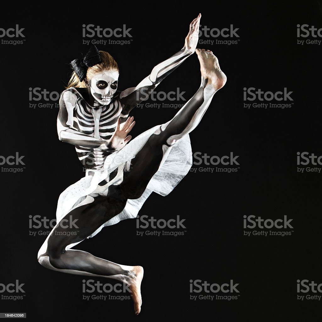 Dance of the dead stock photo