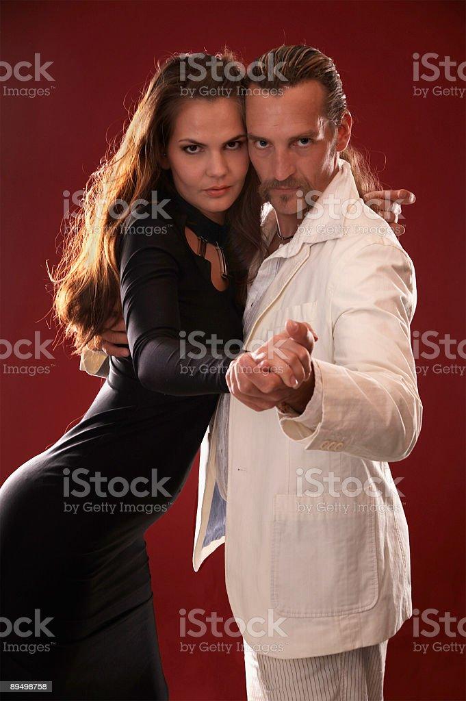 Dance Passion royaltyfri bildbanksbilder