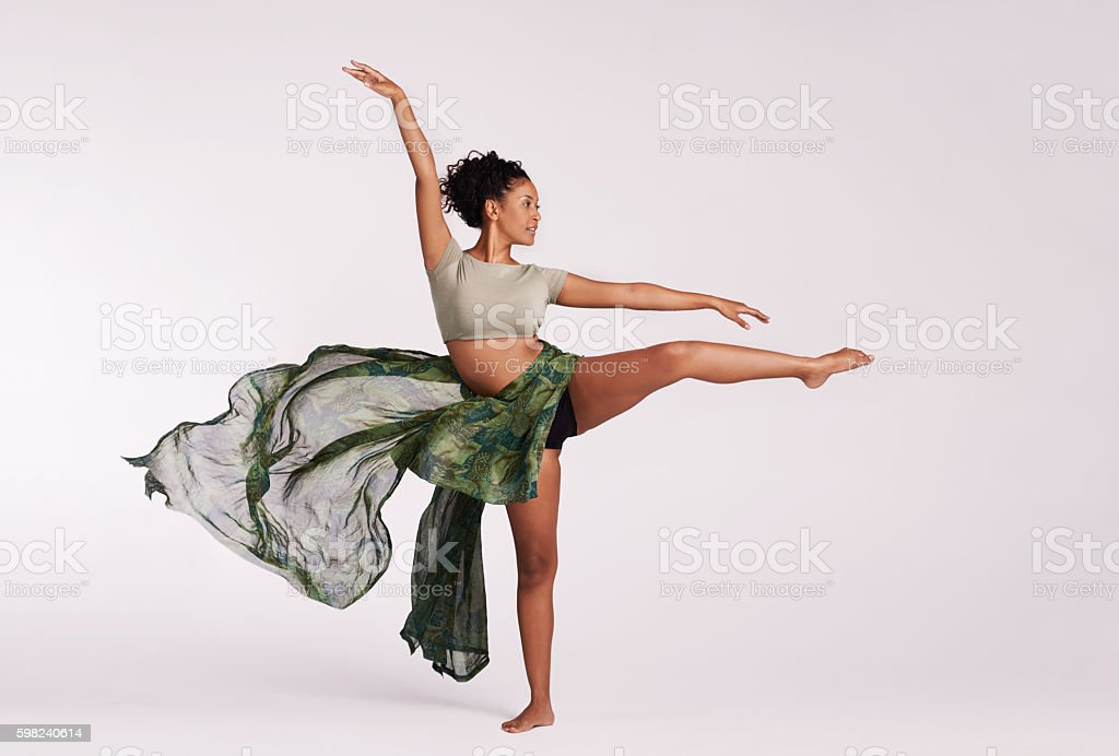 Dance to the rhythm of your heartbeat stock photo