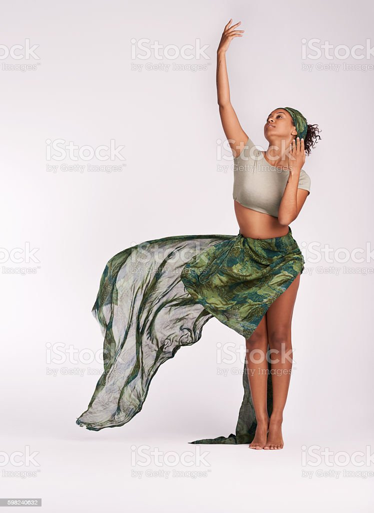 Dance with all of your heart stock photo