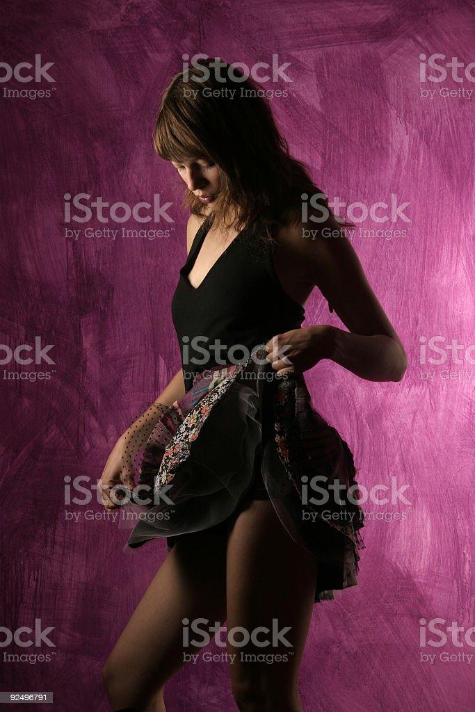 Dancer 2 royalty-free stock photo