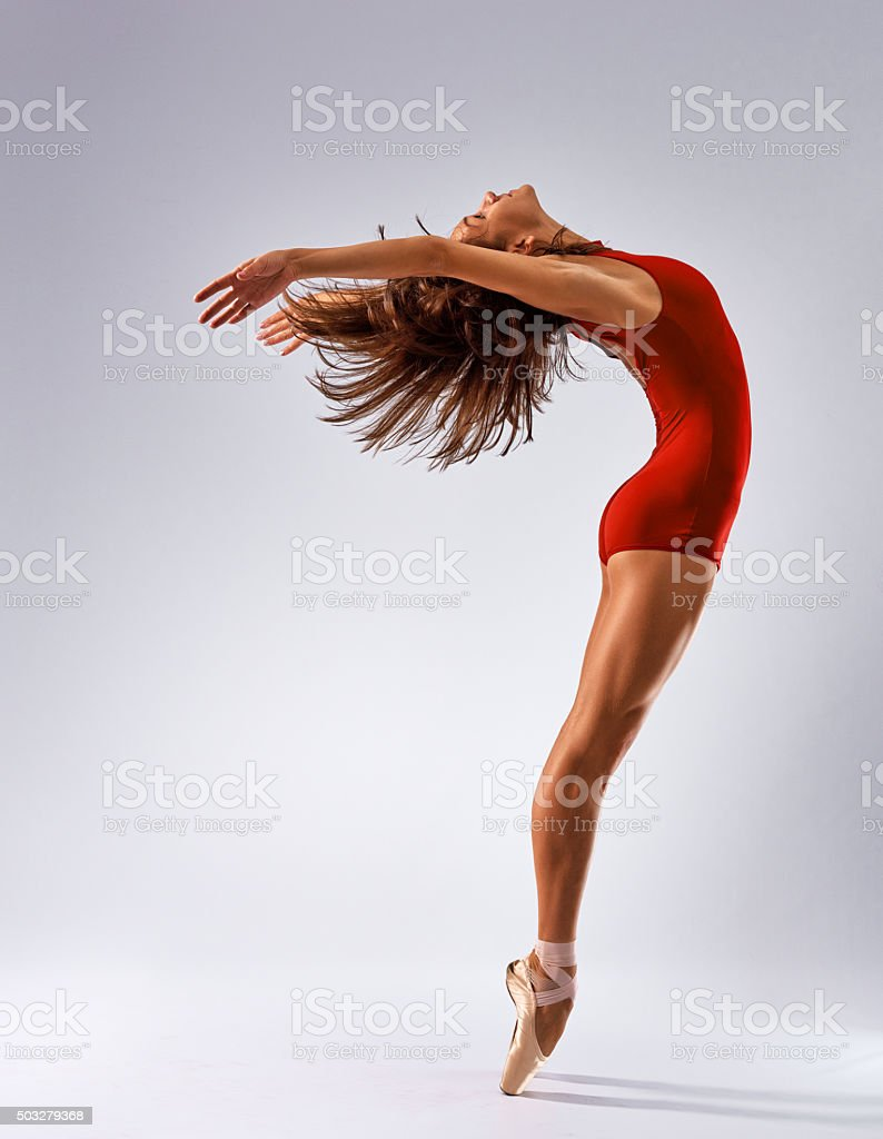 dancer ballerina stock photo
