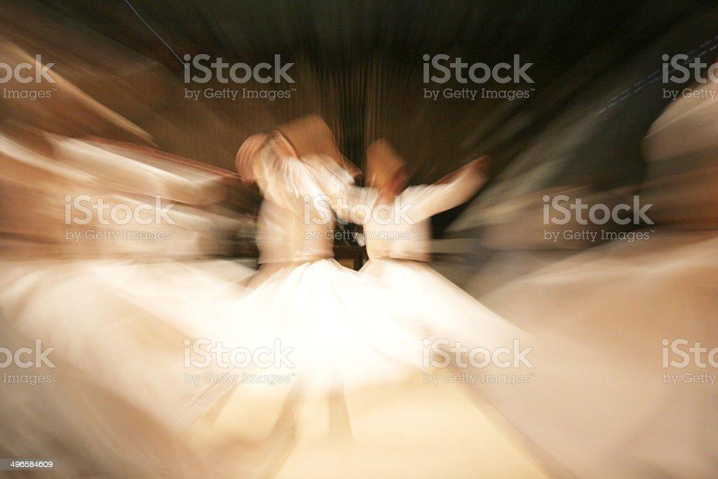 dancer dervish stock photo