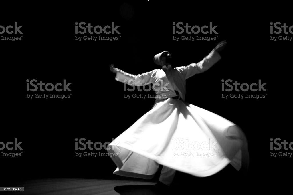 Tänzer dervish Lizenzfreies stock-foto