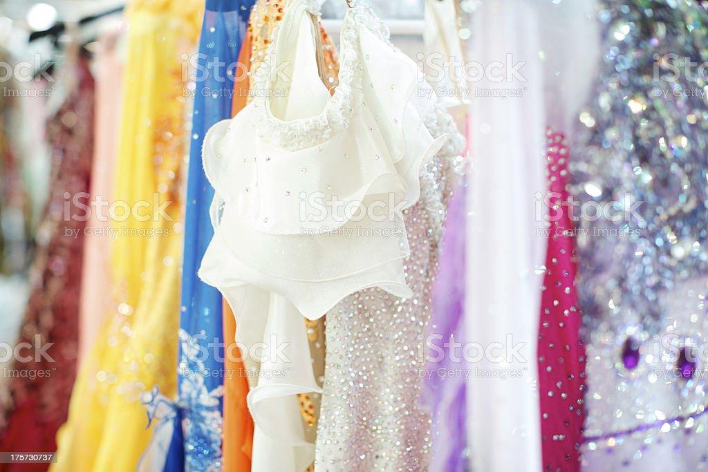 Dancer dress royalty-free stock photo