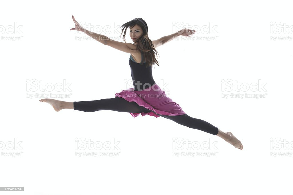Dancer Girl royalty-free stock photo