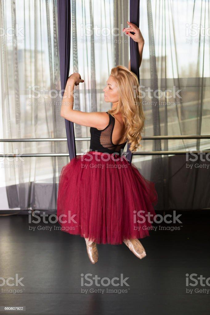 Dancer in the studio royalty-free stock photo