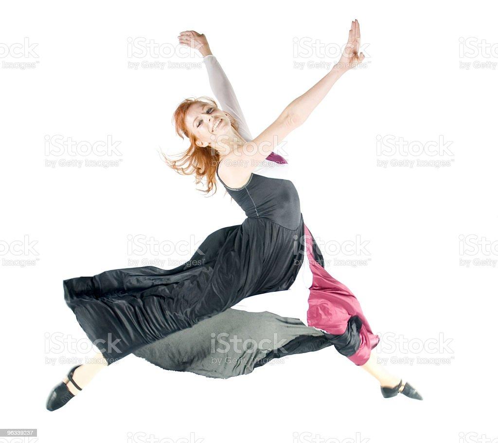 Tancerz Skok - Zbiór zdjęć royalty-free (Aerobik)